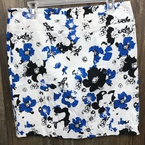 Donna Rocco NY Floral Skirt Pre-owned Size 10